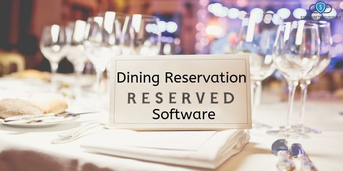 Dining Reservation Software