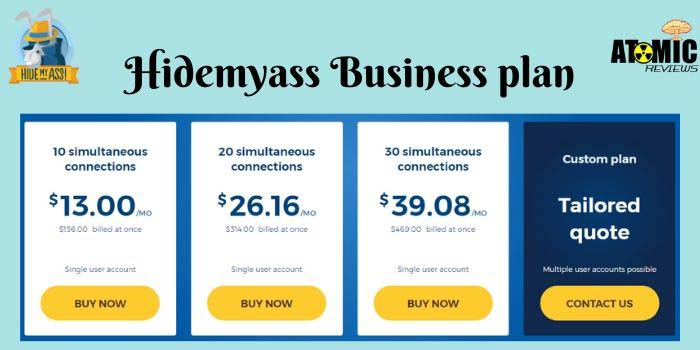 Hidemyass Business Plan