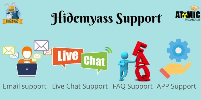 Hidemyass Support