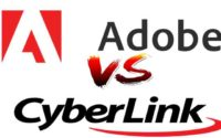 Cyberlink vs Adobe