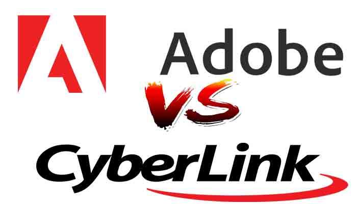 Cyberlink vs Adobe