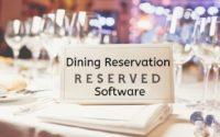 Dining Reservation Software