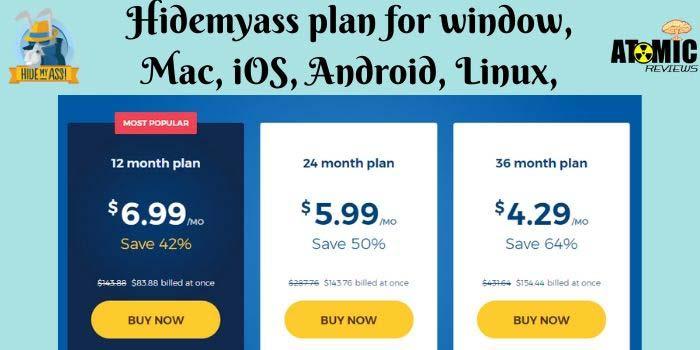 Hidemyass proxy VPN