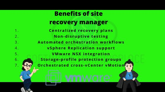 benefits of site recovery manager