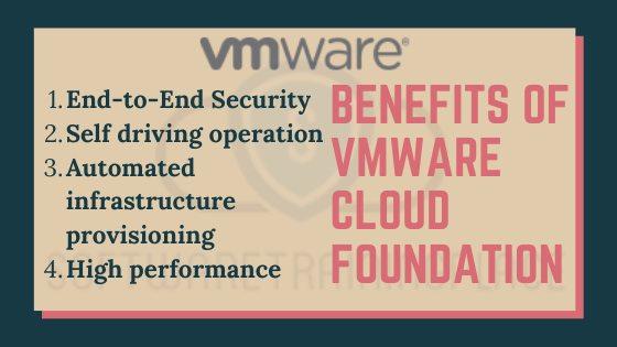 benefits of vmware cloud foundation